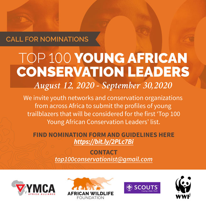 Top 100 Young African Conservation Leaders