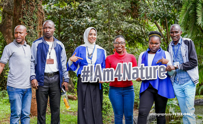 Young Africans are the next conservation leaders