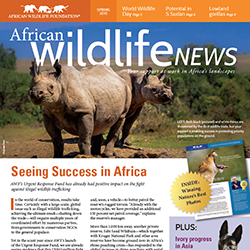 Spring 2015 African Wildlife News