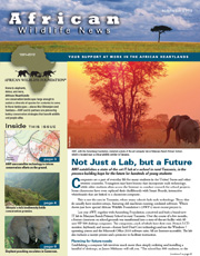African Wildlife News by African WIldlife Foundation, Summer 2012 Edition