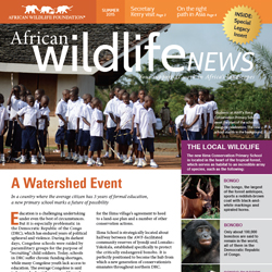 Summer 2015 African Wildlife News