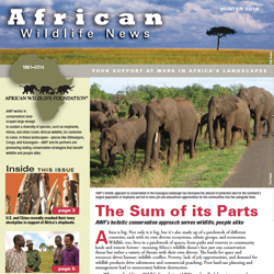 African Wildlife News Winter 2014