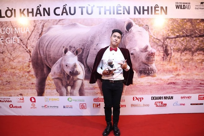 Vietnamese celebrities raise awareness about the rhino poaching crisis