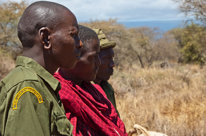 AWF wildlife scouts