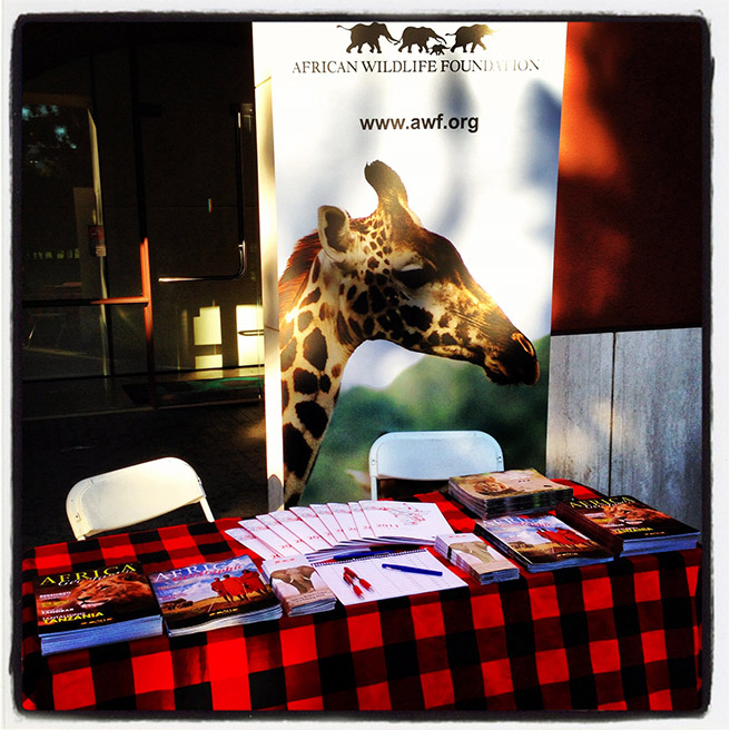 AWF at the Wildlife Conservation Network