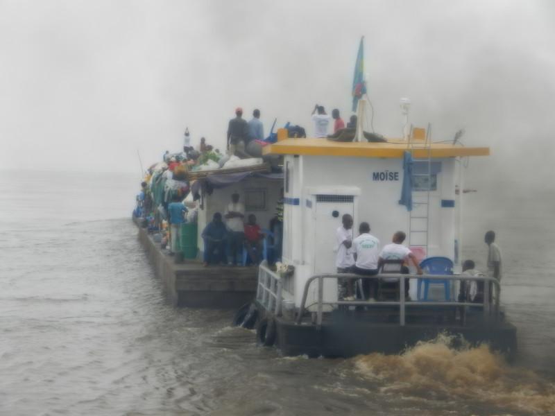 Congo Shipping Barge