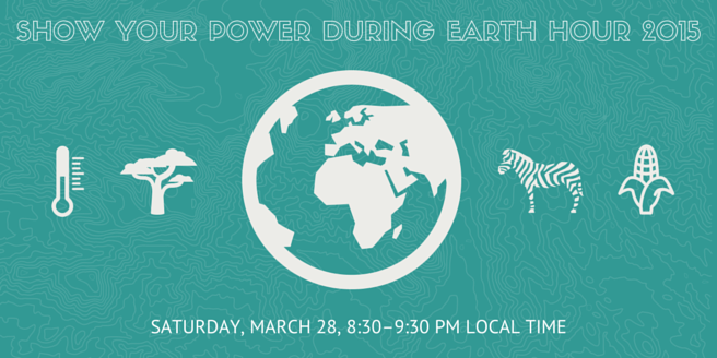 Show your power during Earth Hour 2015