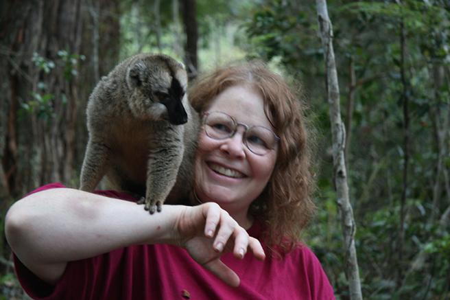 AWF Safari Sweepstakes winner Leslie Wainger