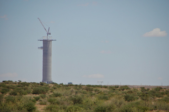 Khi Solar One, South Africa's solar tower