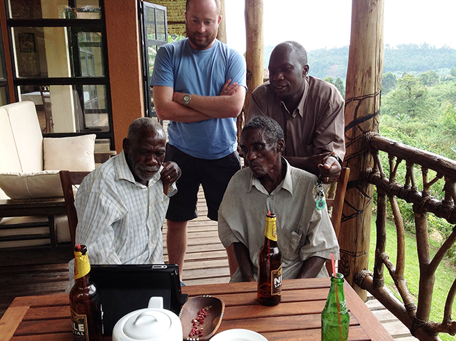 Meeting the Batwa elders