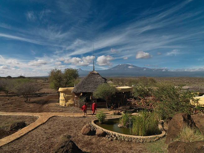 Satao Elerai Lodge in AWF's Kilimanjaro landscape