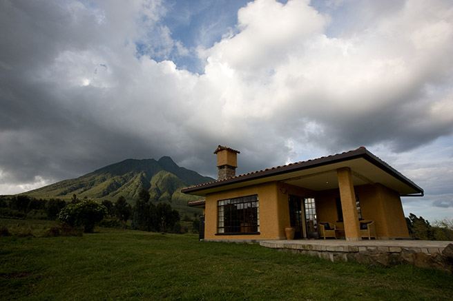 African Wildlife Foundation Sabyinyo Silverback Lodge in Rwanda © Governors Camp Collection