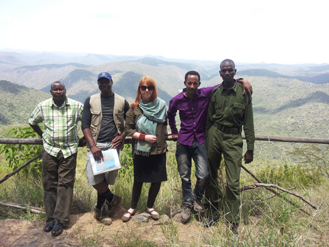 African Wildlife Foundation Conservation Management Training Program participants