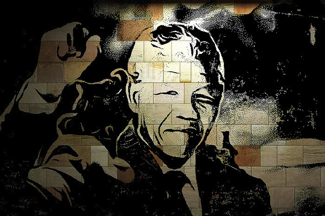 Nelson Mandela collage