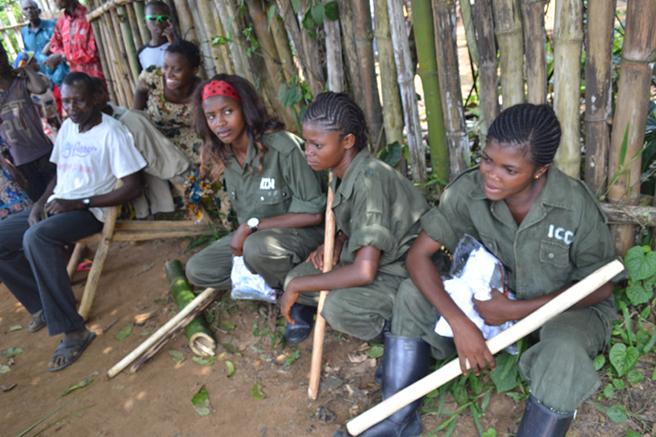 Ecoguard training in Iyondji