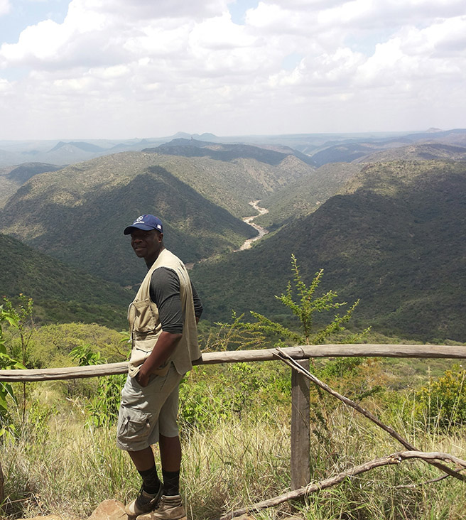 Edwin Tambara, AWF Conservation Management Trainee (CMTP)