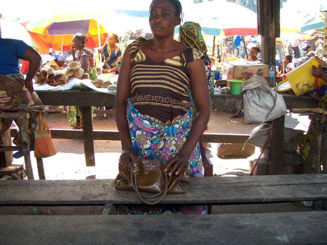 Bushmeat at market