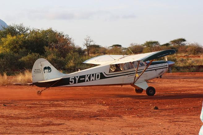 KWS plane. Photo by Peter Chira
