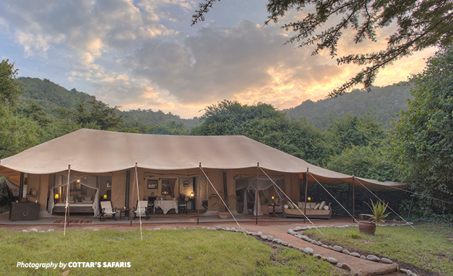 Cottar's Safaris family tent