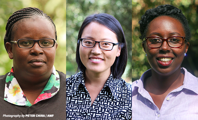 AWF highlights three women from its Conservation Leadership and Management Program