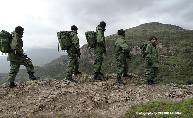 rangers from Ethiopian Wildlife Conservation Authority