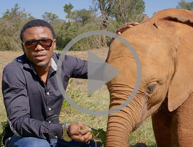 Singer Alikiba joins AWF's Tanzania Campaign