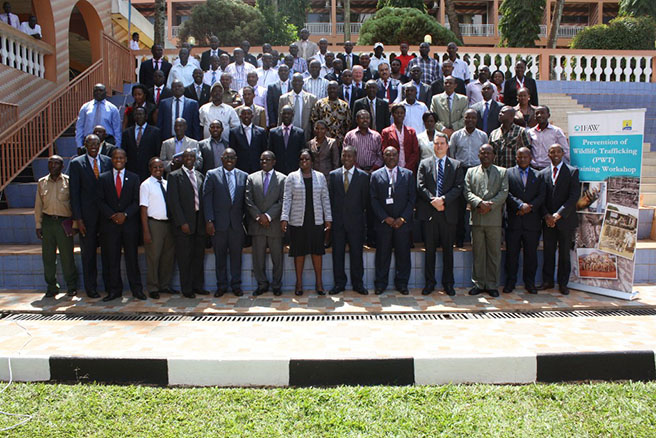 Participants in the URA and IFAW Workshop