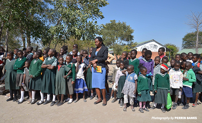 Mrs. Mulonda Imbuwa, the head teacher at Lupani