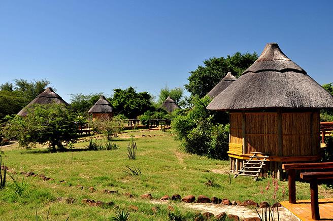 African Wildlife Foundation's Machenje Fishing Lodge in Zambia's Kazangula District. Photo by: Nasson Tembo