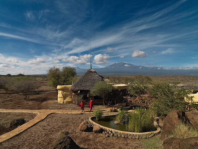 Satao Elerai, a small luxury lodge in southern Kenya, is situated on a 5,000-acre communally owned conservancy and is a unique product of a partnership, facilitated by the African Wildlife Foundation, between the Entonet/Elerai Maasai community and South