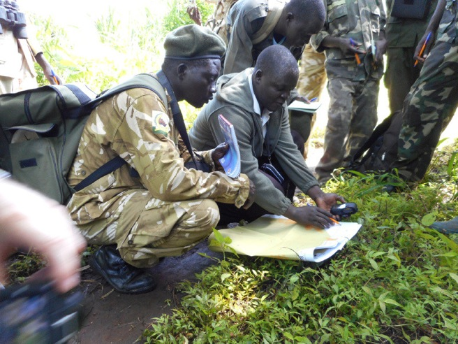 Ranger training in South Sudan
