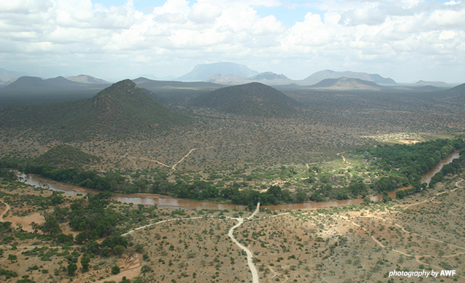 A planned development corridor threatens Kenya's Samburu landscape