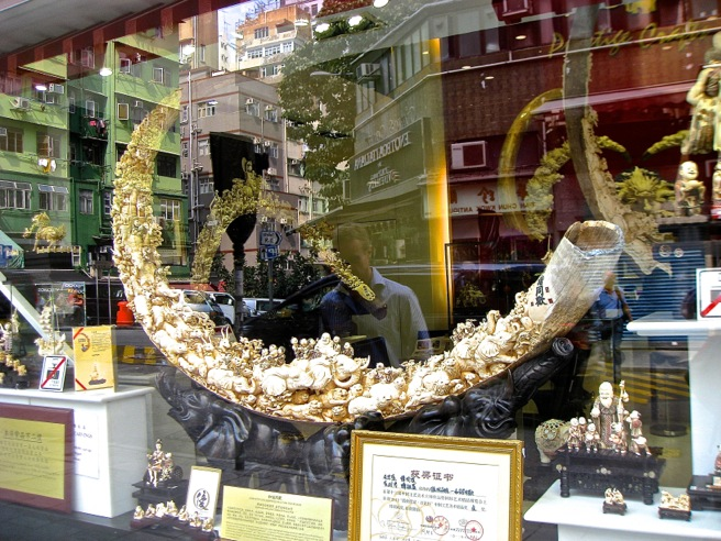 Ivory for sale in Hong Kong