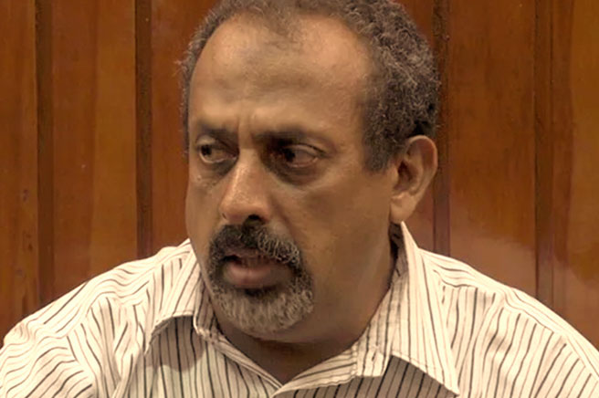 Feisal Ali Mohammed in Courtroom