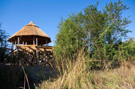 The Lodge nestles into the landscape, really connecting visitors to the natural world.