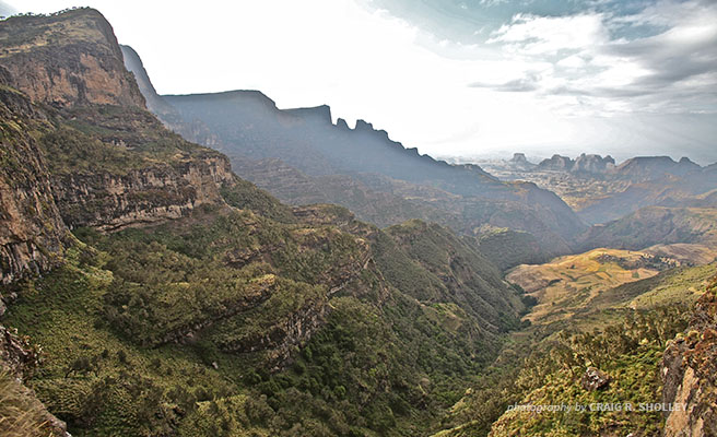 Image of Simien Mountains National Park, a World Heritage Site