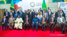 Photo of dignitaries and participants at African Leadership Forum